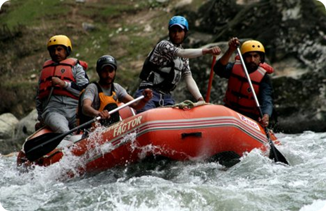 River Rafting in Pahalgam