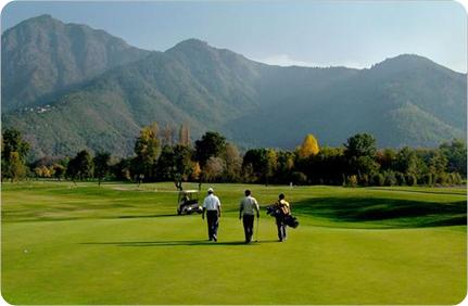Golf in Pahalgam